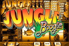 logo jungle boogie playtech caça niquel