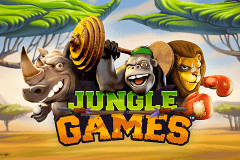 logo jungle games netent caça niquel
