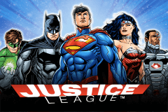 logo justice league nextgen gaming caça niquel