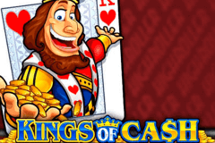 logo kings of cash microgaming caça niquel