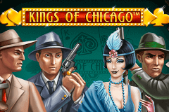 logo kings of chicago netent caça niquel