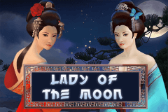 logo lady of the moon pragmatic caça niquel