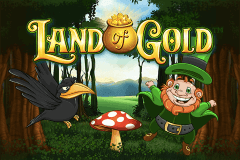logo land of gold playtech caça niquel