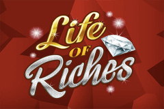 logo life of riches microgaming caça niquel