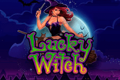 logo lucky witch microgaming caça niquel