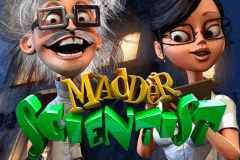 logo madder scientist betsoft caça niquel