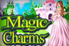 logo magic charms microgaming caça niquel