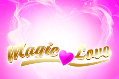 logo magic love netent caça niquel