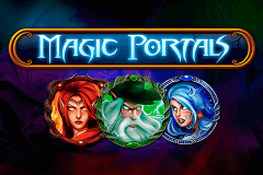 logo magic portals netent caça niquel