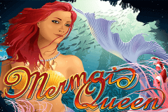 logo mermaid queen rtg caça niquel