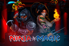 logo ninja magic microgaming caça niquel