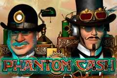 logo phantom cash microgaming caça niquel