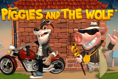 logo piggies and the wolf playtech caça niquel
