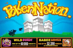 logo pollen nation microgaming caça niquel