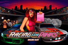 logo racing for pinks microgaming caça niquel