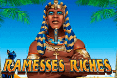 logo ramesses riches nextgen gaming caça niquel
