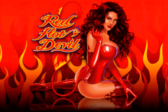 logo red hot devil microgaming caça niquel