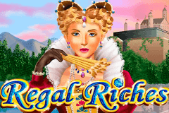 logo regal riches rtg caça niquel