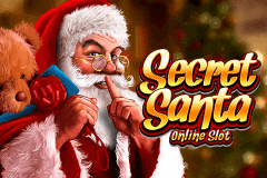 logo secret santa microgaming caça niquel