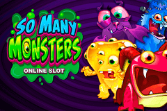 logo so many monsters microgaming caça niquel