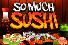 logo so much sushi microgaming caça niquel
