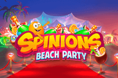 logo spinions beach party quickspin caça niquel