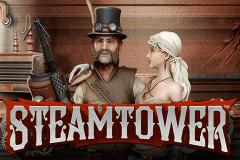 logo steam tower netent caça niquel