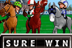 logo sure win microgaming caça niquel