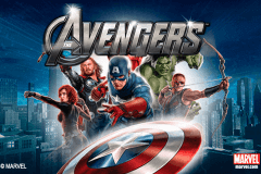 logo the avengers playtech caça niquel