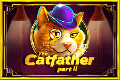logo the catfather part ii pragmatic caça niquel
