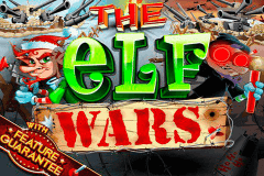 logo the elf wars rtg caça niquel