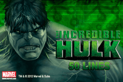 logo the incredible hulk 50 lines playtech caça niquel