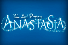 logo the lost princess anastasia microgaming caça niquel