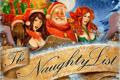 logo the naughty list rtg caça niquel