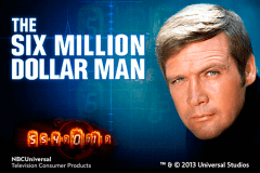 logo the six million dollar man playtech caça niquel