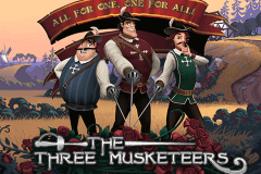 logo the three musketeers quickspin caça niquel