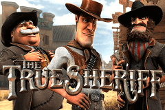 logo the true sheriff betsoft caça niquel