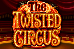 logo the twisted circus microgaming caça niquel