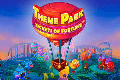 logo theme park tickets of fortune netent caça niquel