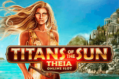 logo titans of the sun theia microgaming caça niquel