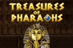 logo treasure of the pharaohs pragmatic caça niquel