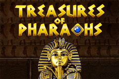 logo treasures of the pharaohs pragmatic caça niquel