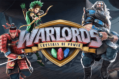 logo warlords crystals of power netent caça niquel