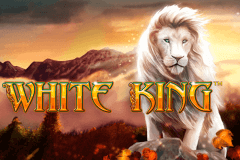 logo white king playtech caça niquel
