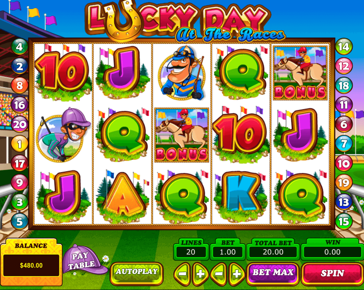 lucky day at the races pragmatic jogo casino online