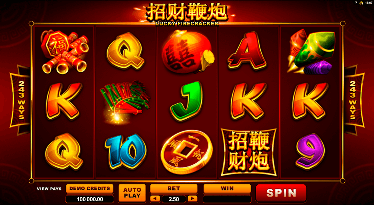 lucky firecracker microgaming jogo casino online