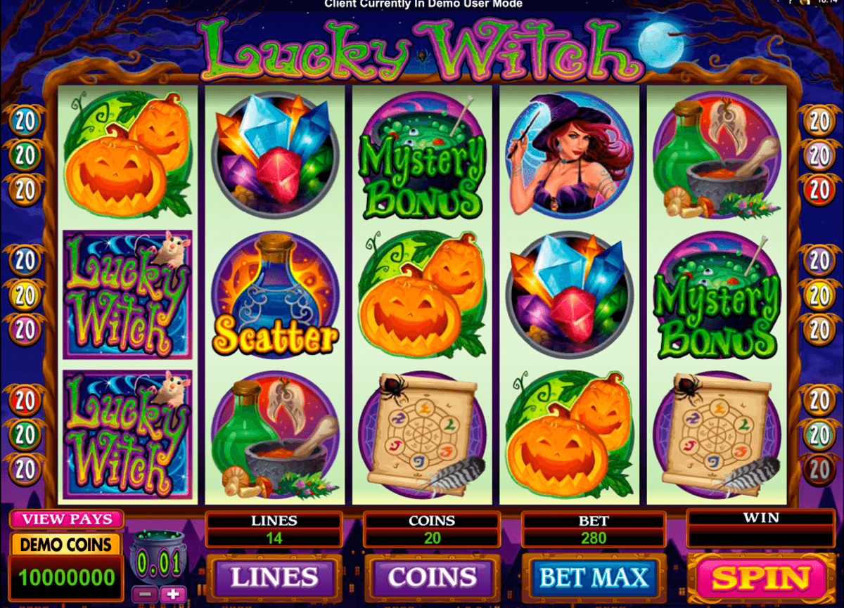 lucky witch microgaming jogo casino online