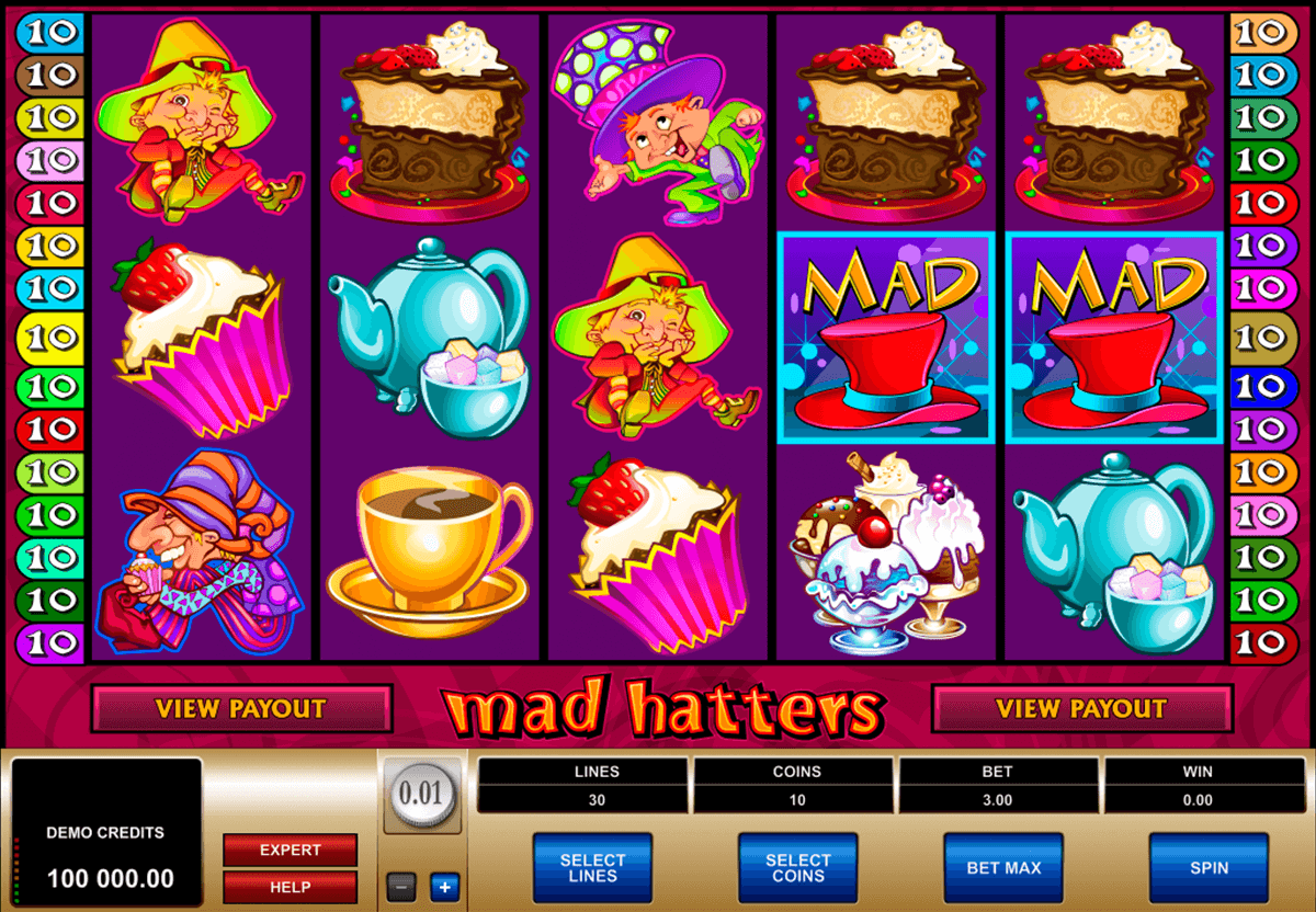 mad hatters microgaming jogo casino online