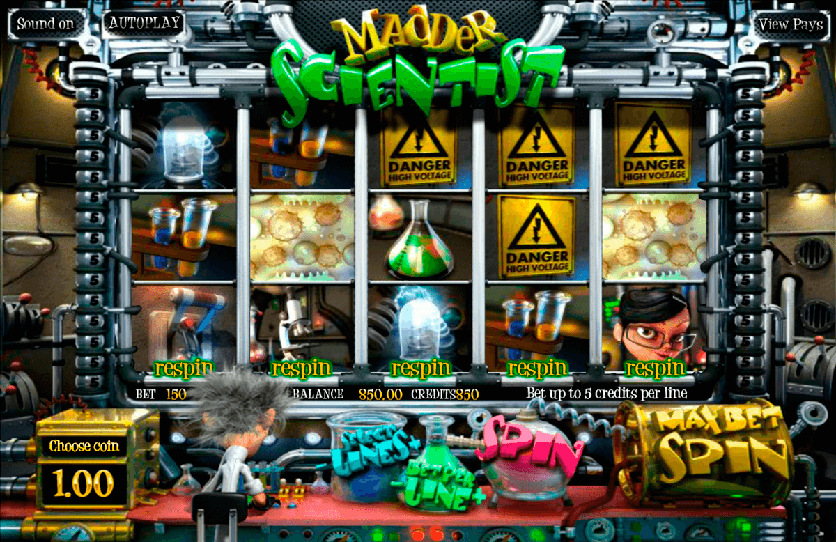 madder scientist betsoft jogo casino online