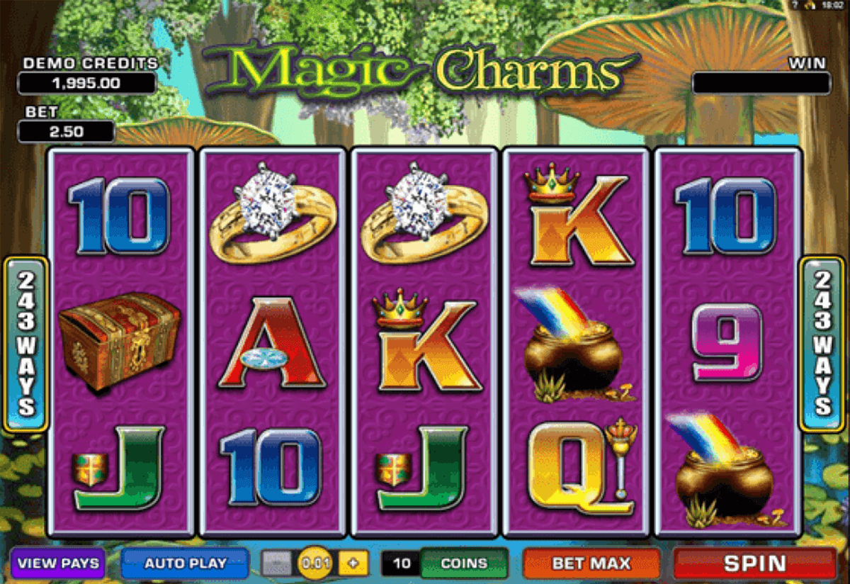 magic charms microgaming jogo casino online